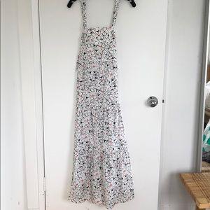 Zara Print Maxi Dress